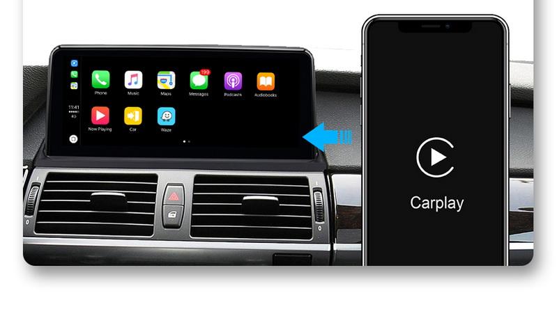 Carplay в магнитоле BMW