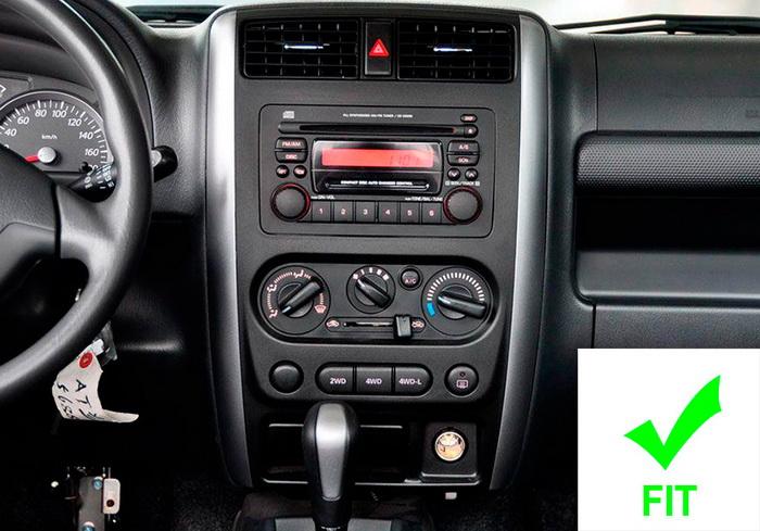 Магнитола планшет с большим экраном Suzuki Jimny