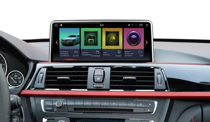 BMW 3 магнитола установлена в автомобиль