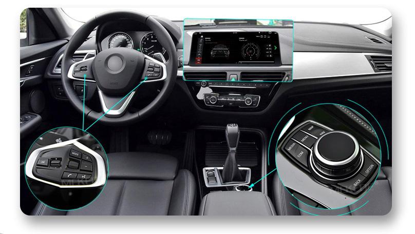 Кнопки на руле и шайба в магнитола на Андроиде